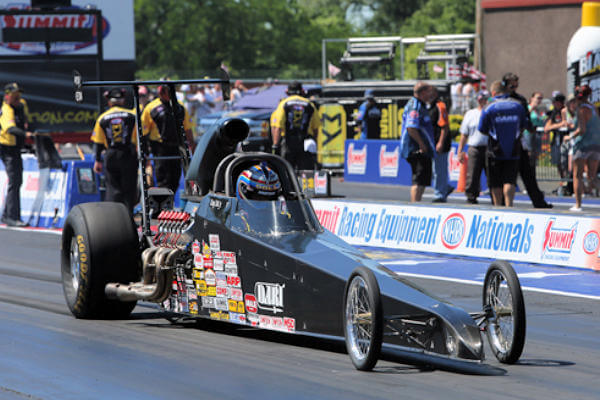 Doug Doll Jr. NHRA Competition Eliminator Champion