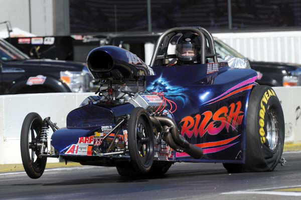 Alan Ellis NHRA Competition Eliminator Champion