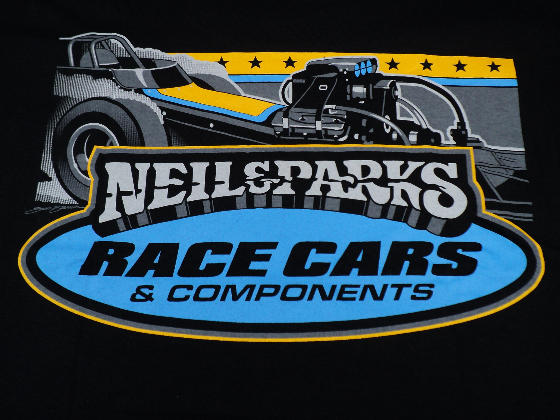 Neil & Parks Racing T-Shirt - Rear View