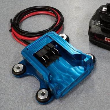 Milwaukee Rechargeable Battery Mount For Racing