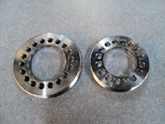 Bearing Adjusters - Outside View