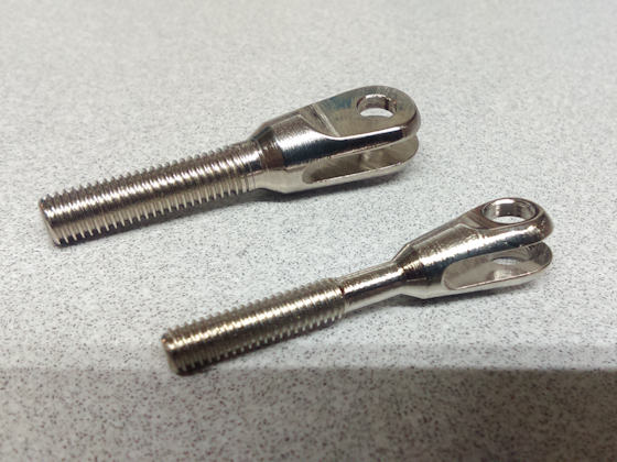Combo Threaded or Weld inClevis - Steel