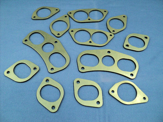 Assorted Neil & Parks Header Flanges