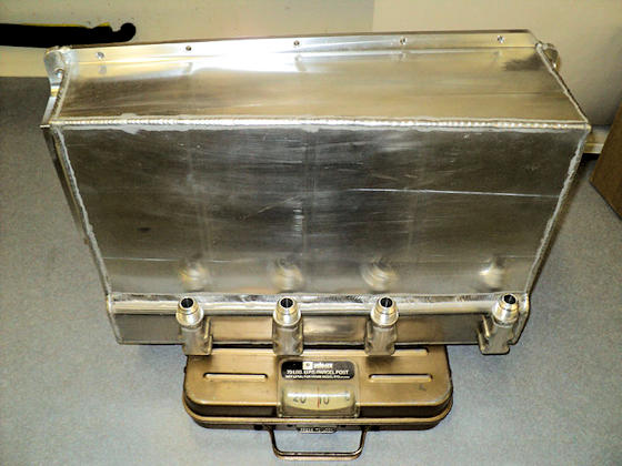 Fabricated Dry Sump Oil Pan - Scale View