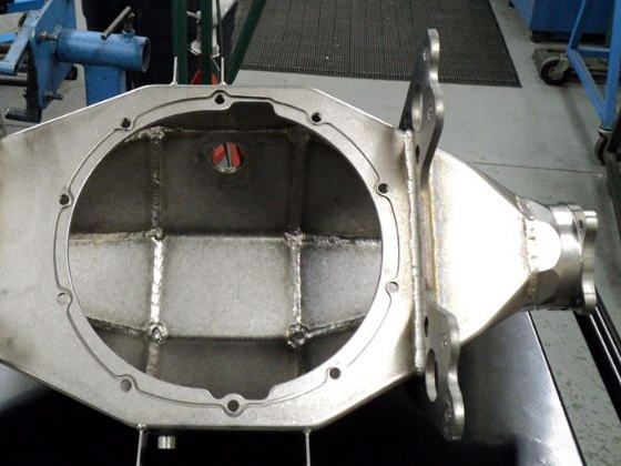 Floater Rear End Housing -  front view