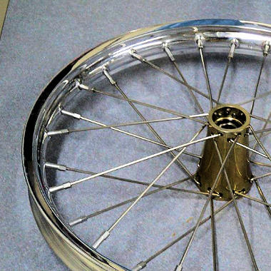 Dragster Wire Wheels & Tires