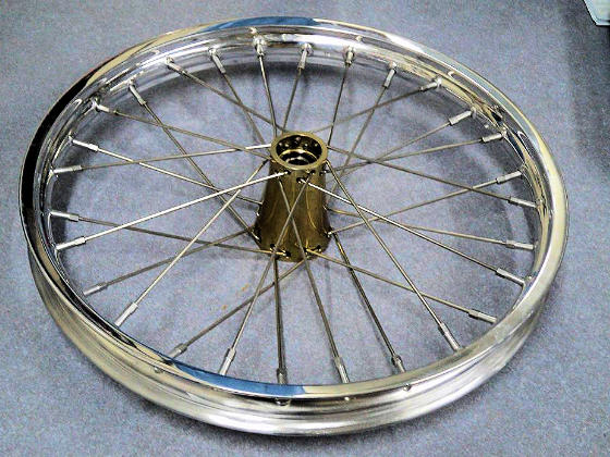 Super Light Wire Dragster Wheels