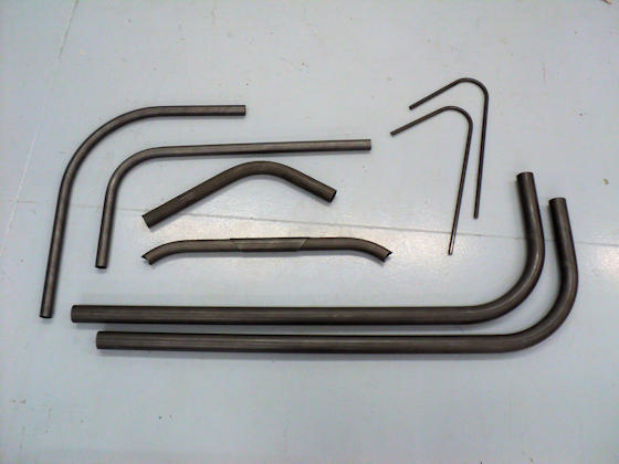 Roll Bar Bends for Dragsters
