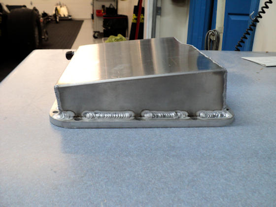 Fabricated Aluminum Powerglide Pan