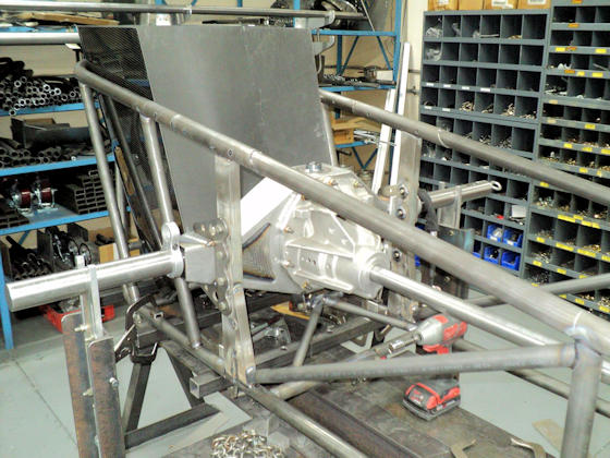 Dragster Rear End Mounting Kit  Installed