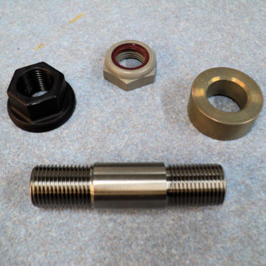 Super Light Titanium Drive Stud Kit With Aluminum Nuts