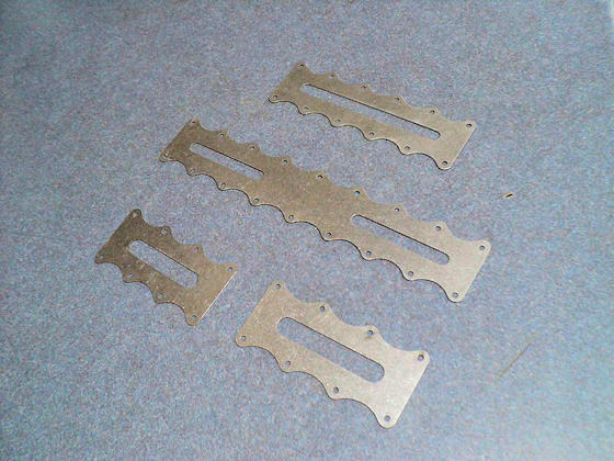 Aluminum Wing Skin Doublers